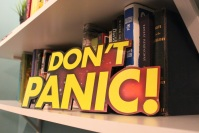 Don't panic - on my office bookshelf.